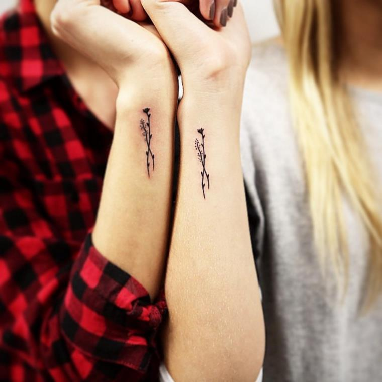 The wrist tattoo in some authentic concepts that encourage us