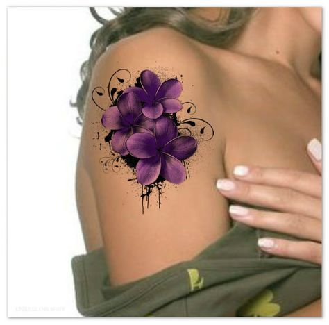 Small and delicate shoulder tattoos for girls
