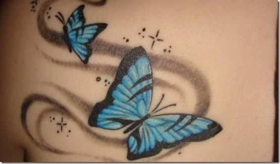 Sizzling Butterfly Tattoo Designs for Ladies