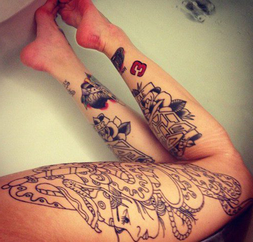 Henna tattoos: photos, designs, how you can make them and handle them