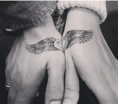Tattoos for {couples} in love with distinctive designs