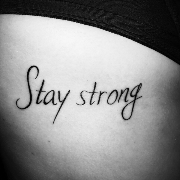 Tattoos with quick phrases for ladies » Nexttattoos