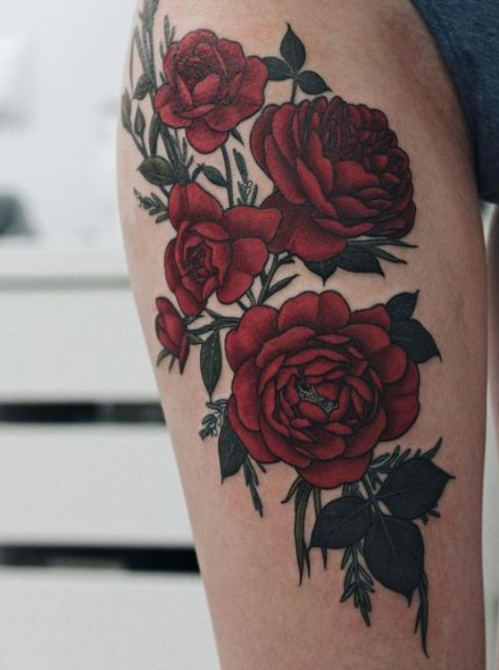99 Roses Tattoos Designs For Women Nexttattoos