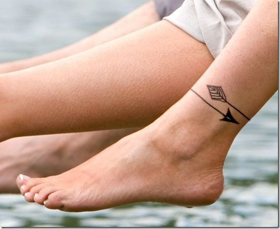 Tying Ankle Tattoo Designs