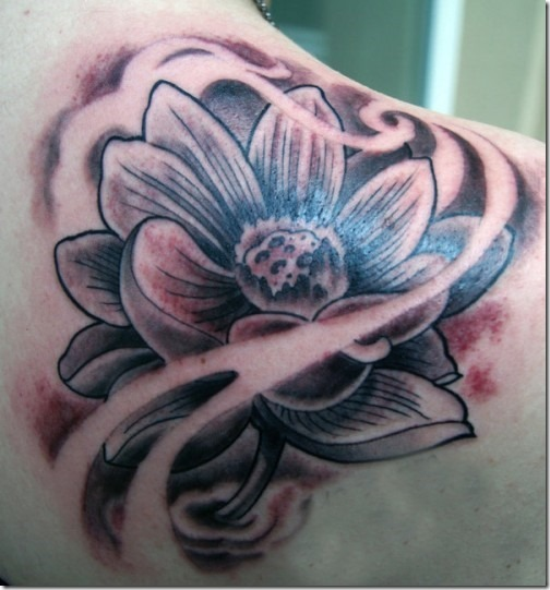 Awesome Lotus Flower Tattoo Designs Nexttattoos