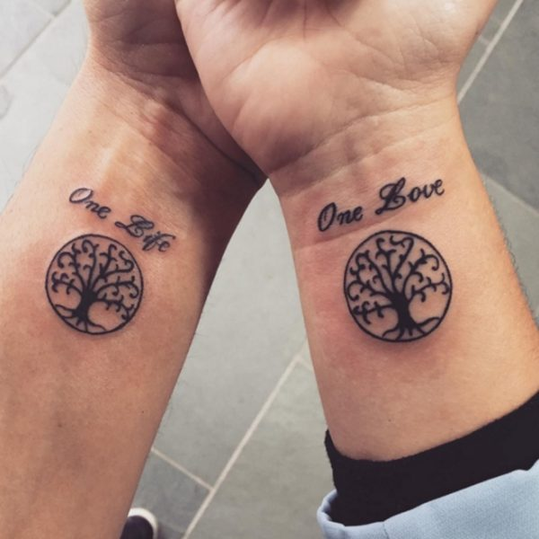 101 Love Tattoos for small and authentic {couples}