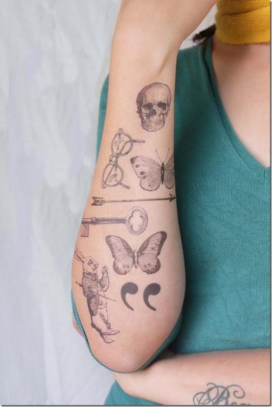 8b0f0d70d Lovely Exterior Of The Forearm Tattoos » Nexttattoos