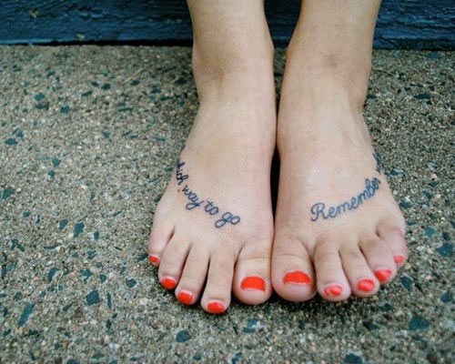 Tattoos for ladies within the foot [Creative and original designs]