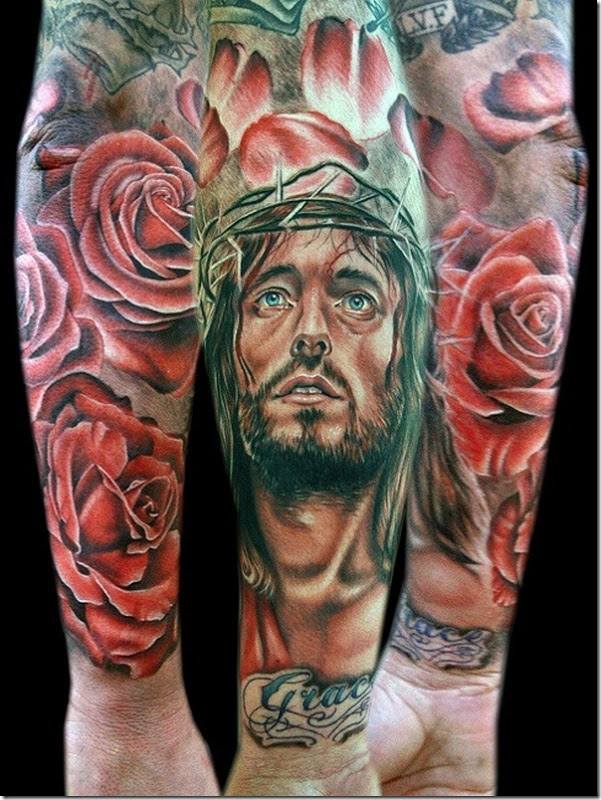 Venerate Jesus Christ Tattoo Designs