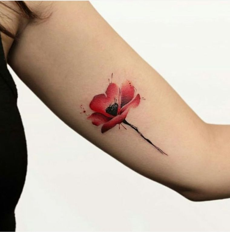 Flower Tattoo - 10 authentic tattoo concepts and their meanings