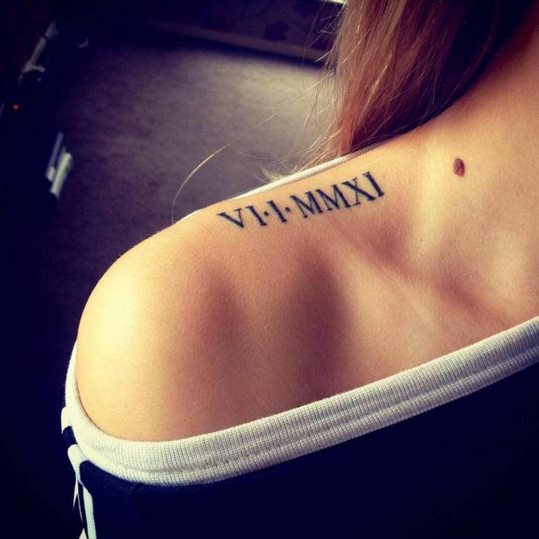 Roman numeral tattoo - which means, conversion, concepts