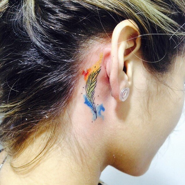 Feather Tattoos 2018, to see them you may wish to have one.
