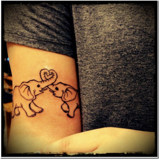 Inventive Elephant Tattoo Designs For Males And Girls