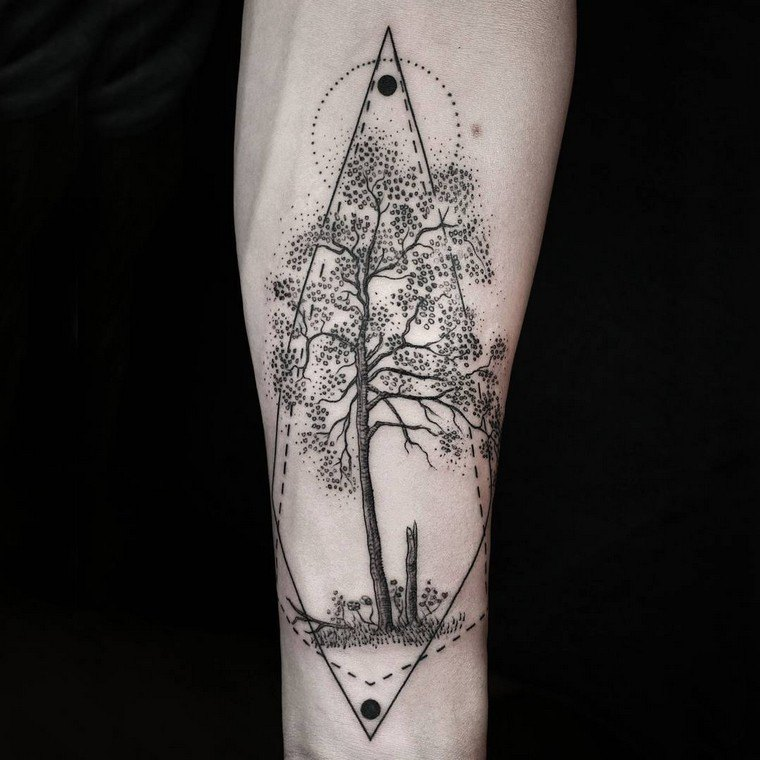 Tattoo arm and tattoo forearm: unique concepts