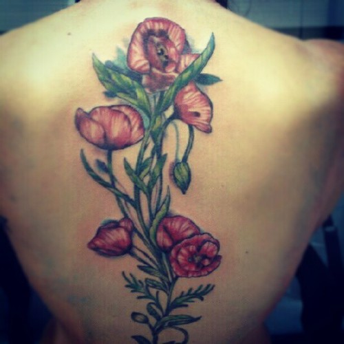 Tattoos For Women In The Back Nexttattoos