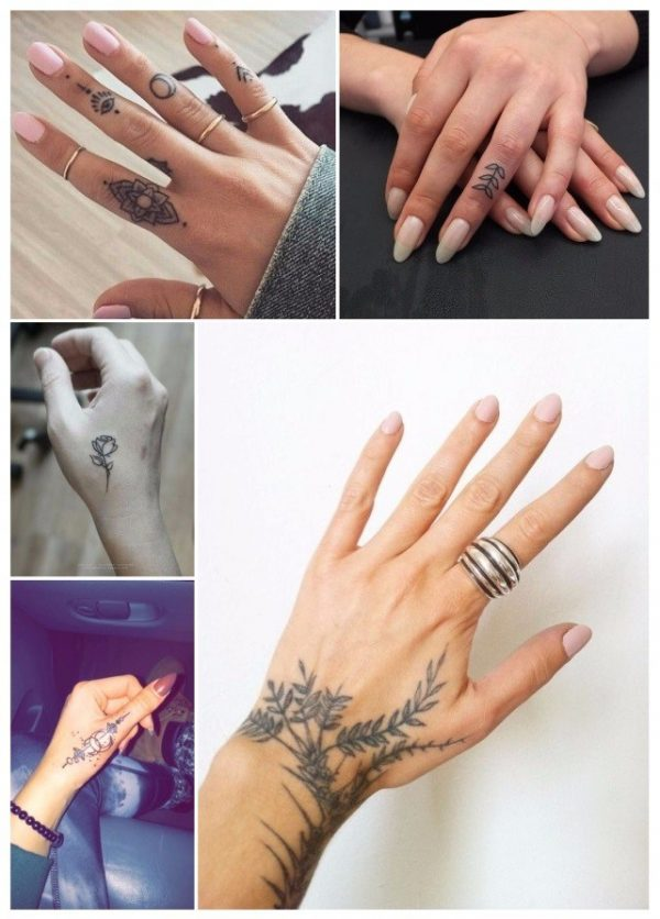 105 Tattoos on the wrist, arms and fingers small and unique