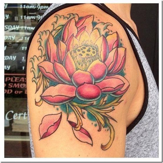 Superior Lotus Flower Tattoo Designs » Nexttattoos