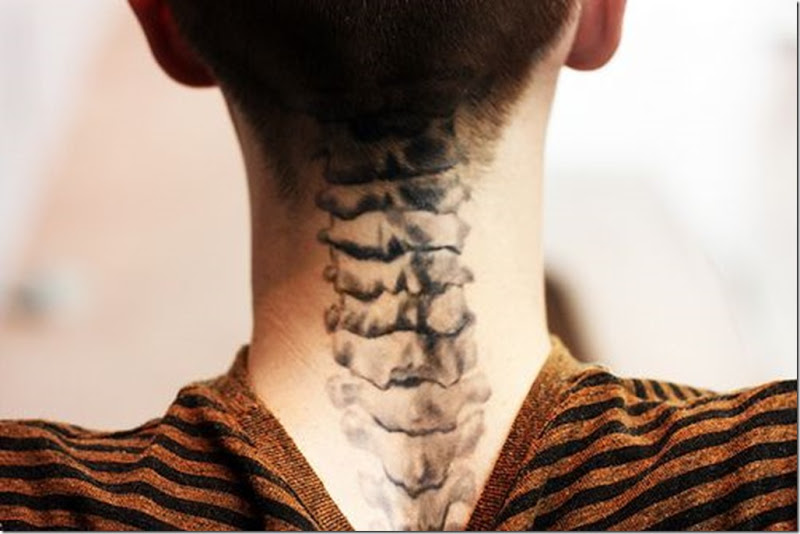 Spectacular Neck Tattoo Designs