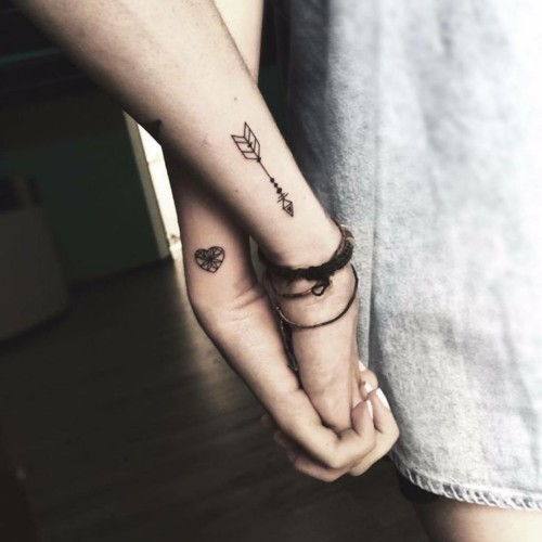 Tattoos For Couples 100 Images Ideas And Exciting Models Nexttattoos