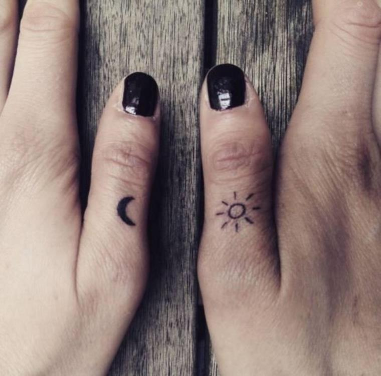The tattoo ring - we prefer it for its discreet and authentic facet