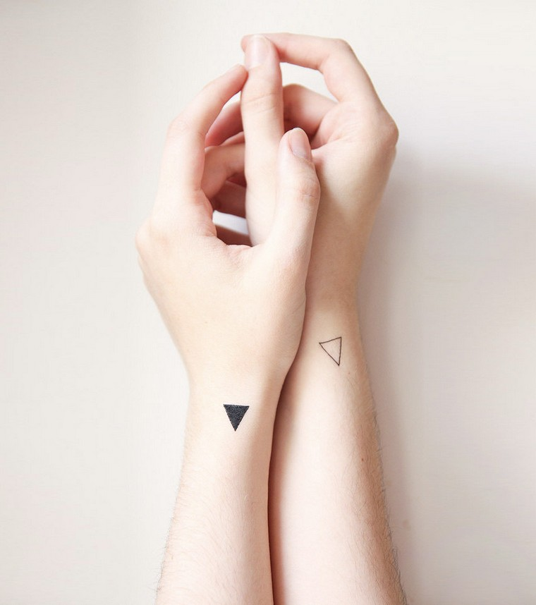Geometric tattoo: 30 new tattoo concepts triangle, circle, square, rectangle ...