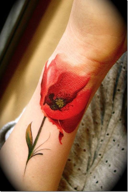 Beautiful Flower Tattoos For Women
