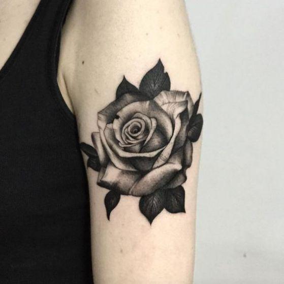 99 Roses Tattoos Designs For Ladies Nexttattoos
