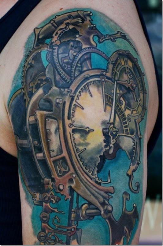 Extra Cool Steampunk Tattoo Designs
