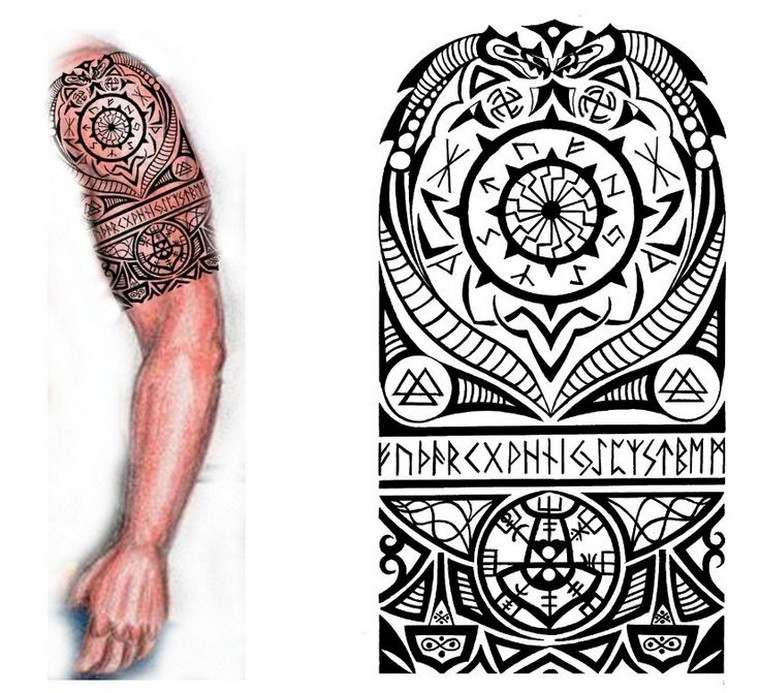 Viking Tattoo The Mysterious Historical Past Of Nordic