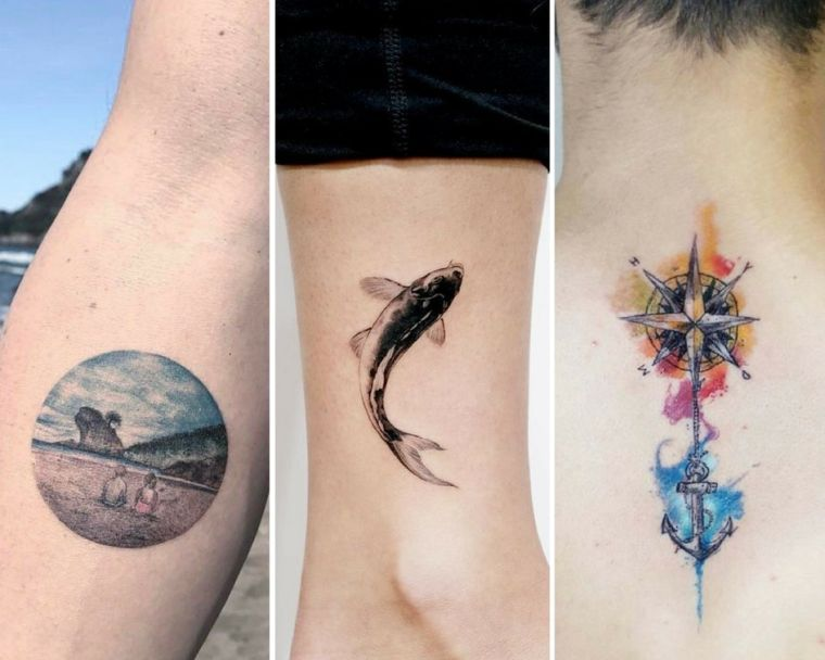 Marine tattoo concept - marine fashion fashions and which means to undertake