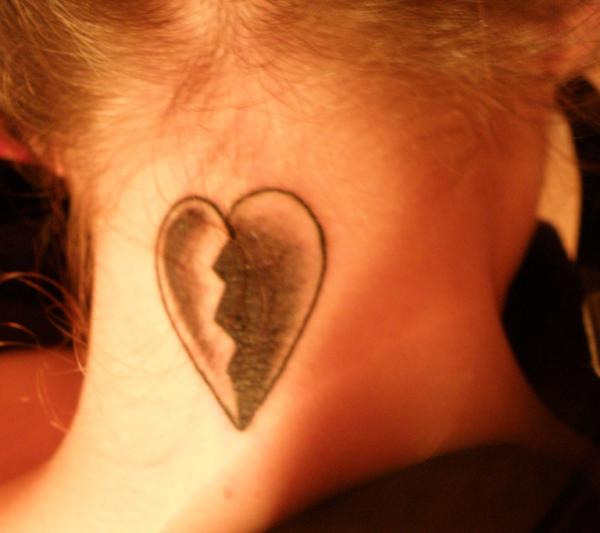 Tattoos of hearts small and authentic designs
