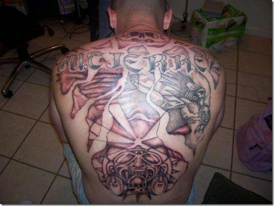 Distinctive Aztec Tattoos For Males Nexttattoos