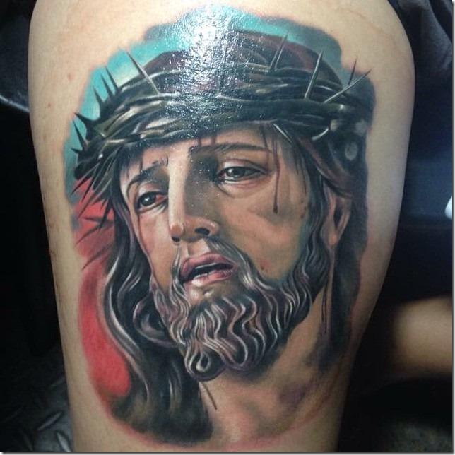 Venerate Jesus Christ Tattoo Designs