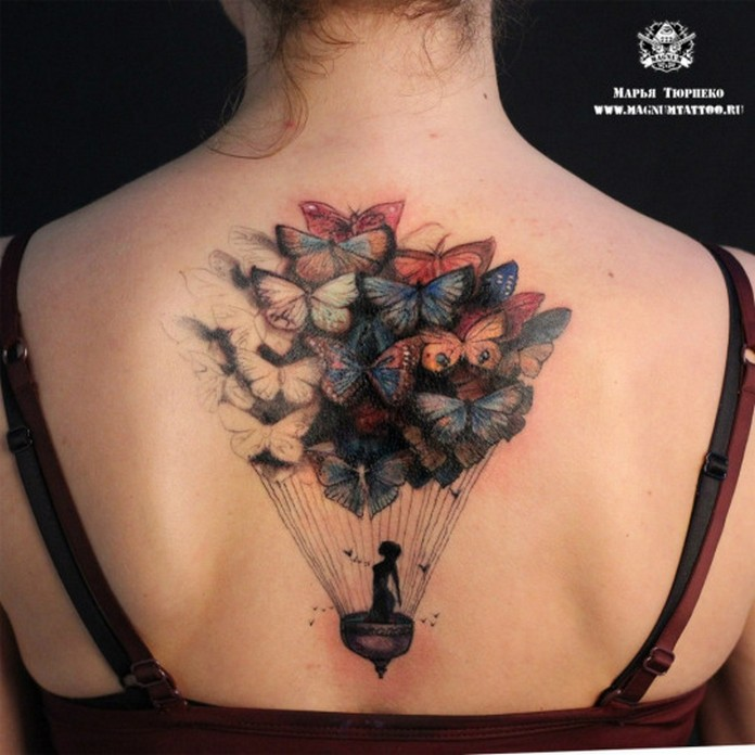 Stunning designs of tattoos for girls