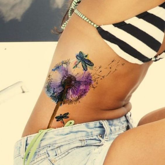 27+ Tattoos on the ribs that you will need to have