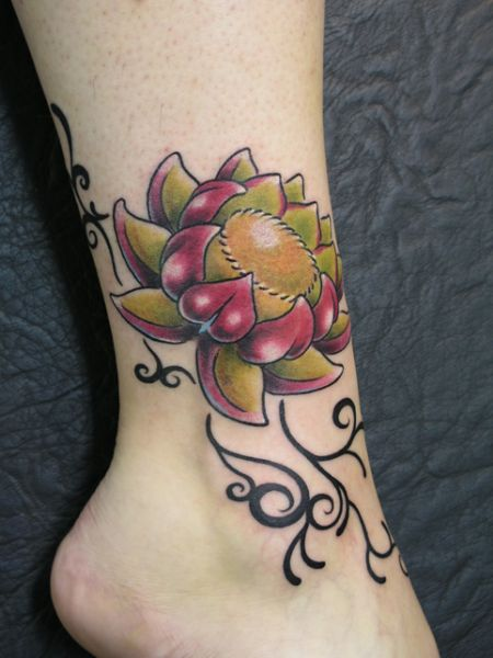 Photos of Lotus Flower Tattoos