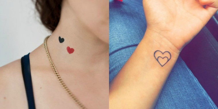 Coronary heart tattoo: concepts for a classy little tattoo