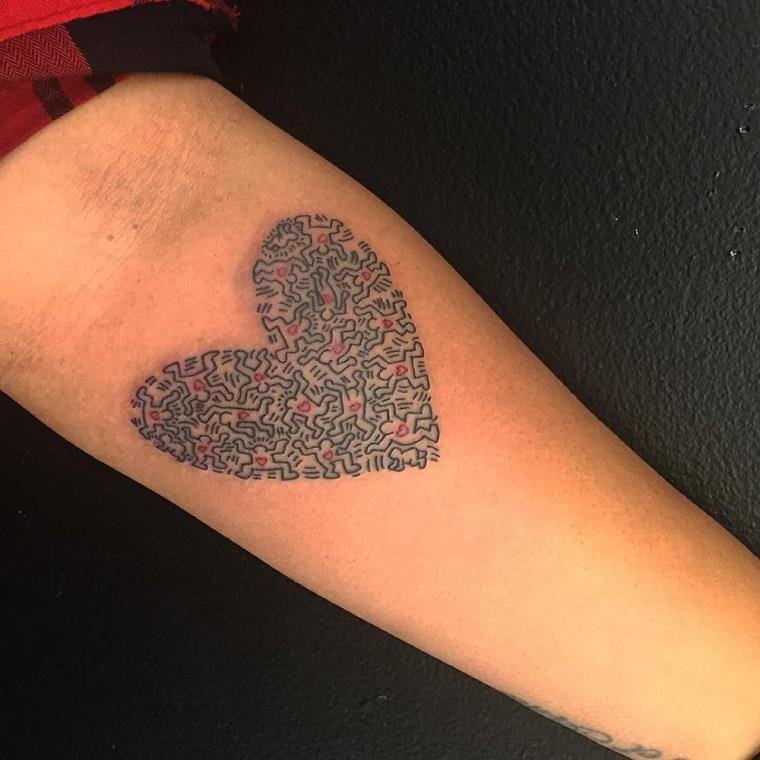101 heart tattoo designs that will cause you fall in love - 750×750