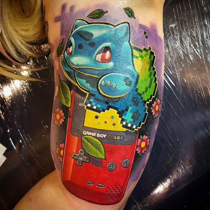 18 concepts for Pokemon tattoos and their associates