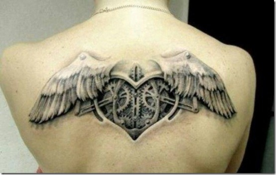 Coeur Steampunk more cool steampunk tattoo designs » nexttattoos