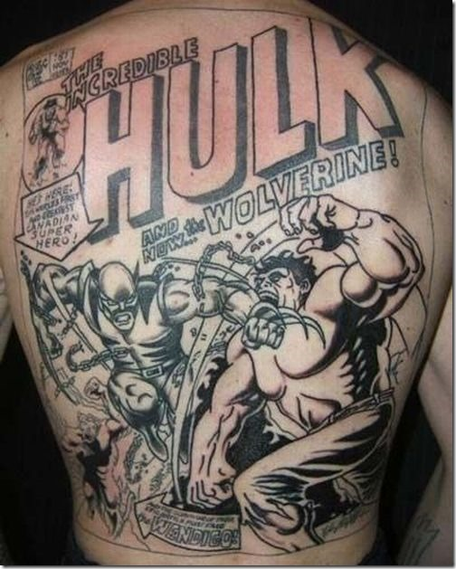 High 20 Superhero Tattoo Designs