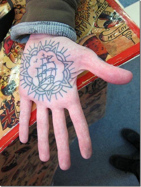 Spectacular Palm Tattoo Designs