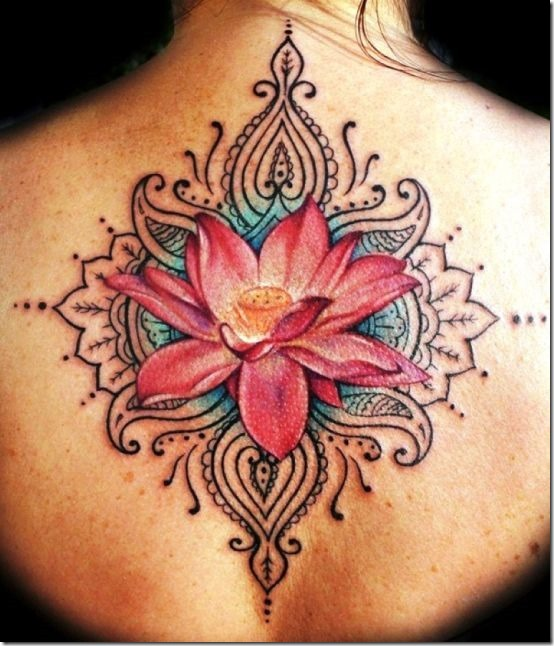 Superior Lotus Flower Tattoo Designs Nexttattoos