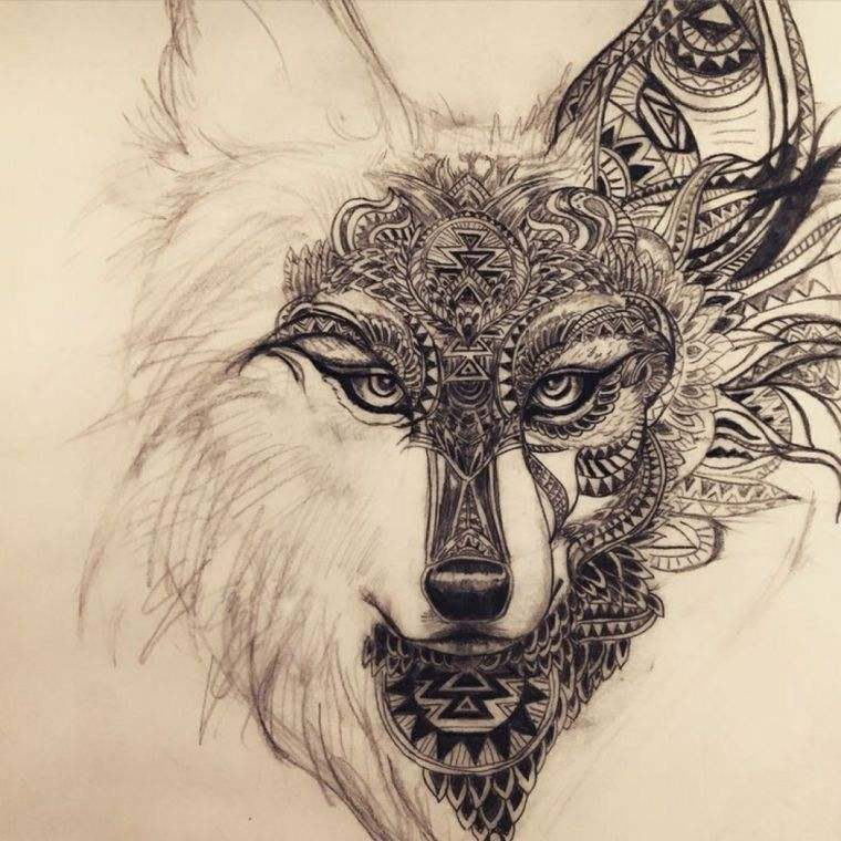 Wolf Tattoo And Wolfs Head Models And Meaning In Pictures